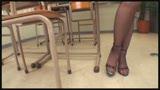 女教師のパンストに発情しちゃった僕 ミニスカでナイロン越しのパンチラ誘惑に辛抱たまらず最後の1滴まで絞り取られました0