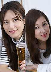 beforeのりか&あやかafter