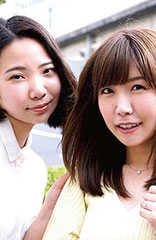 beforeさき&ゆいかafter