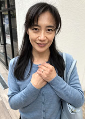 before応募してきた人妻 香山里枝子 50 歳after