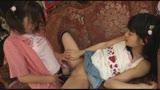初レズ姉妹 妹がウブな処女マ○コを舐められ発情!唾液とマン汁がグチョグチョに絡んで思わず初イキ!!37