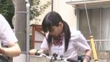 自転車の椅子に媚薬を塗られ通学路でも我慢できずサドルオナニーをするほど発情しまくる女子校生5