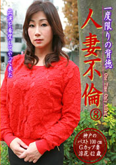 before一度限りの背徳人妻不倫(8)〜神戸のバスト100㎝Gカップ妻・涼花42歳after