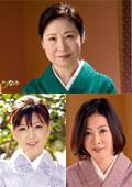 女盛りのカルチャー教室の先生 秋田富由美 62歳 / 竹内梨恵 48歳 / 坂本瑞希 41歳