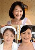 働くおばさんAVデビュー 高松みどり 50歳 / 柚木しほ 50歳 / 三峰かずこ 48歳