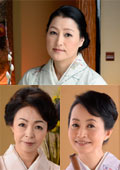 女盛りのカルチャー教室の先生 藍原かおる 54歳 / 藍川京子 55歳 / 花岡よし乃 55歳