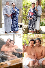 before熟年交尾 おしどり夫婦が行くセックス温泉旅行【塩ノ沢温泉・甲府温泉の旅】 浦野明美 61歳・小笠原祐子 81歳after