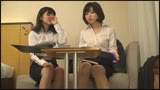 東京に出張で来た同じ部屋の同僚 働くオンナ達は性欲が強く気が付けば無我夢中で濡らしあっていた/