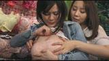 「仕事中に乳揉みされ感じてしまった胸が性感帯の巨乳職女はレズられても拒めない」VOL.1/