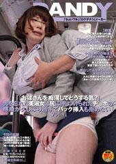 「『おばさんを痴漢してどうする気?』男を忘れた美淑女は尻に押しつけられたチ○ポの感触が久しぶり過ぎてバック挿入も拒めない」VOL.1