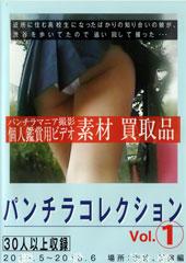 パンチラマニア撮影 個人観賞用ビデオ素材 買取品 パンチラコレクション Vol.1