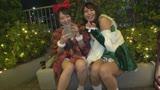 【クリスマス×ナンパ】Xmasムードとアルコールで勢い加速☆デカチンズボハメされてジャバジャバ潮吹きイキ狂うコスプレサンタの限界越えSEX☆/