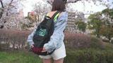 【花見ナンパ】花見美人を騙してテイクアウト!敏感美少女のロリ巨乳ボディは激しいSEXで強烈スプラッシュ☆/