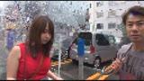 街で見かけたパイスラがひと際目立つムチムチ爆乳娘をナンパしたら秋田の田舎町から遊びに上京してきた世間知らずの芋っ娘でした。1