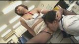 ソソる女子社員がボクに黒パンストを見せつけて勃起させ、逆素股でヌイてくれた!!37
