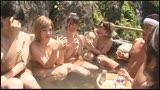 彼氏がいない可愛いニューハーフがメンズを争奪する混浴合コン!!恥らい女子とサオ釣りNHの温泉ガチンコバトル!1