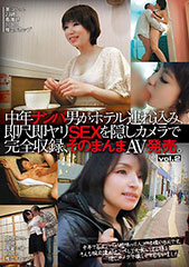 中年ナンパ男がホテル連れ込み、即尺即ヤリSEXを隠しカメラで完全収録、そのまんまAV発売。 Vol.2