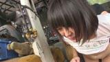 日焼け跡の残るロ●ータ美少女を後ろから犯し続けるバック厳選映像 4時間4
