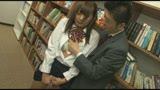 図書室で担任にガン突きされてアヘ顔痙攣するクラスの女子/