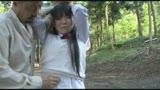 下校中にガマンできず野ションして管理人にお仕置きされる女子校生13