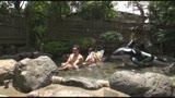 社員旅行で温泉に来ている同僚の男女に混浴露天風呂で裸で2人きりの過激ミッションをしたら、セックスまでしてしまうのか?34