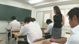 声が出せない絶頂授業で10倍濡れる人妻教師 水野優香 40歳0