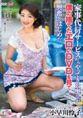 家事代行サービスからやってきた奥さんが僕の捨てたエロいDVDを見て興奮しはじめた。 小早川怜子