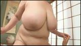 バストサイズ測定不能の垂れ巨乳おばさん 乳を垂らして激しく腰を振りまくる!35
