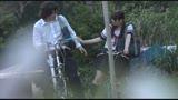 自転車の椅子に媚薬を塗られ通学路でも我慢できずサドルオナニーをするほど発情しまくる女子校生415