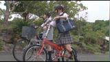自転車の椅子に媚薬を塗られ通学路でも我慢できずサドルオナニーをするほど発情しまくる女子校生429