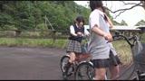 自転車の椅子に媚薬を塗られ通学路でも我慢できずサドルオナニーをするほど発情しまくる女子校生431