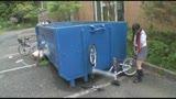 自転車の椅子に媚薬を塗られ通学路でも我慢できずサドルオナニーをするほど発情しまくる女子校生44
