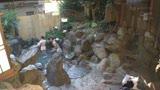 混浴温泉でタオル越しに触られ授乳期を終えたふわふわ乳首をカチカチにして感じる敏感妻1