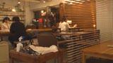 カフェ娘連鎖痴漢 営業中の店内でイキ堕ちた言いなり店員を利用する数珠つなぎ痴漢計画19