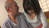 介護ボランティア女子大生と老人の濃厚接吻SEX3
