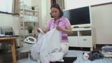 地方の働くレディ 家事代行サービスのきれいなおばさん 熊谷美人 宮本紗央里 42歳10