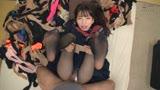 神パンスト 冬愛ことね 制服ロリ美少女の美脚を包んだ生ナマしいパンストを完全着衣でムレた足裏からつま先を味わい尽くす!38