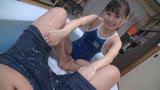 濡れてテカってピッタリ密着 神スク水  花音うらら  可愛い女子のスクール水着姿をじっとりと堪能!22