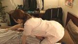 ビジネスホテルの女性マッサージ師は抜いてくれるのか?(4)〜服の上からでもわかる爆乳Iカップ・彩奈さん6