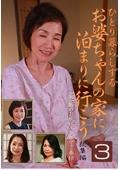 ひとり暮らしするお婆ちゃんの家に泊まりに行こう総集編(3)〜一宿一飯のお礼にチンポでご奉仕