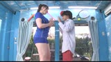 マジックミラー号の天井に頭がついちゃう!2 高身長アスリート女子がチビ男相手に初めてのバックブリーカーフェラ、逆駅弁FUCKチャレンジ/