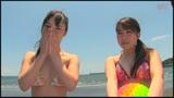ビキニギャルがイキまくり!デカチン見せつけ海ナンパ/
