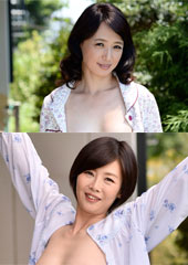普段から気になってたお隣のとってもエロいおばさんとセックスしちゃった俺!安野由美50歳 竹内梨恵46歳