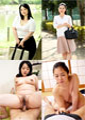 三十路・四十路AVデビュー お尻自慢のSEX大好き熟女がカメラの前でピクピク絶頂! 長橋美里 33歳・香川彩香 41歳