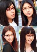 『高偏差値大学に通う地味で真面目そうな眼鏡女子ほど、実は超エロいって本当?』SP