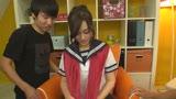美容室で働く隠れ巨乳でフェラチオの達人なサセ娘さんAVデビュー!!27