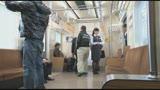 美尻乗務員が騎乗位でおもてなし 中出しオマ○コ通勤電車/