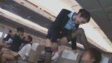 「制服・下着・全裸」でおもてなし またがりオマ〇コ航空9 中出し便7