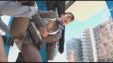 高嶺の花 キャビンアテンダント限定 「黒パンストの試着にご協力してください!!」と声を掛けた美脚CAがぬるぬるローションで耐久テストと称して足コキ!18