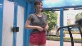 マジックミラー号でおっぱいランニング 運動直後の女性はエロくなるって本当!?巨乳娘がおっぱい揺らして全力疾走!/